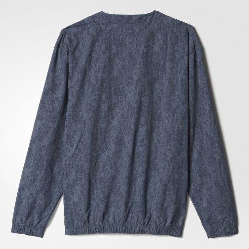 Adidas Sweatshirt Stone Wash Crew utility blue Tifoshop