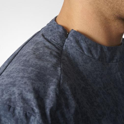 Adidas Sweat Stone Wash Crew utility blue Tifoshop