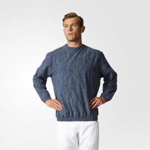 Adidas Sweat Stone Wash Crew utility blue