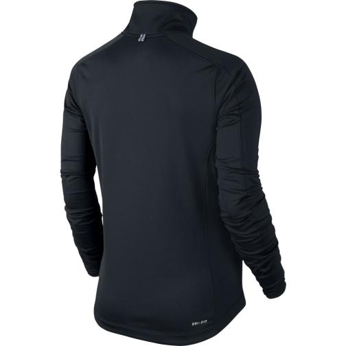 Nike Sweater Therma Running Jacket  Woman Black Tifoshop