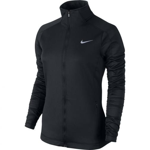 Nike Sweater Therma Running Jacket  Woman Black