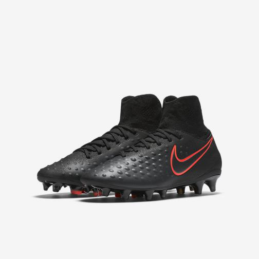 Nike Chaussures De Football Magista Obra Ii Fg  Enfant Black Tifoshop