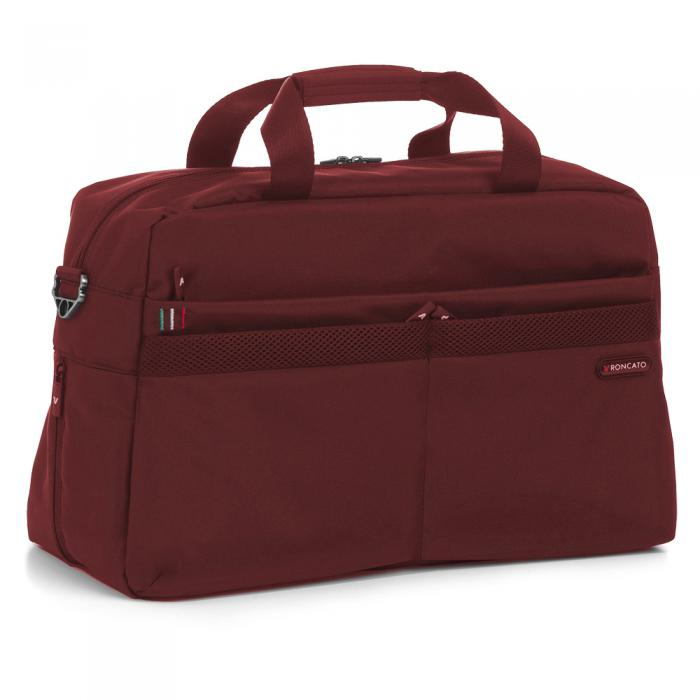 Duffle  DARK RED