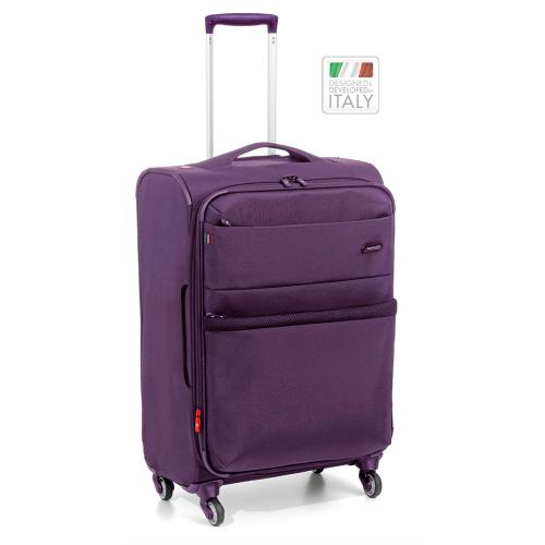 MEDIUM LUGGAGE  VIOLET