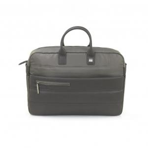 LAPTOP BRIEFCASE  WARM GRAY