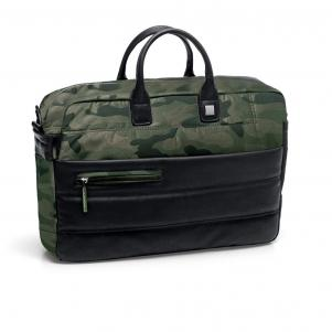 LAPTOP BRIEFCASE  CAMOUFLAGE MILITAR GREEN
