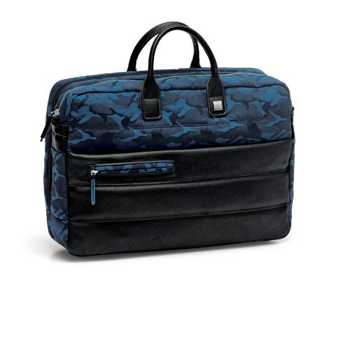 SAC ORDINATEUR  CAMOUFLAGE BLUE