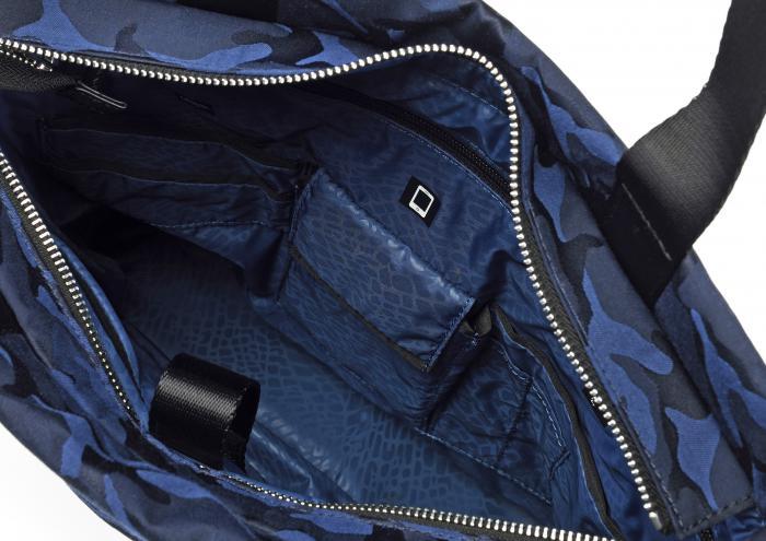 Bolsa Para La Compra  CAMOUFLAGE BLUE Roncato