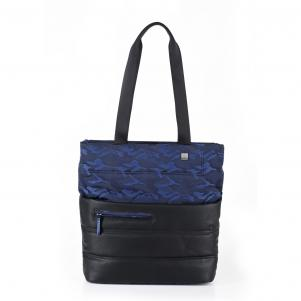 SAC SHOPPING  CAMOUFLAGE BLUE