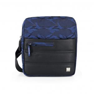 CROSSOVER BAG  CAMOUFLAGE BLUE