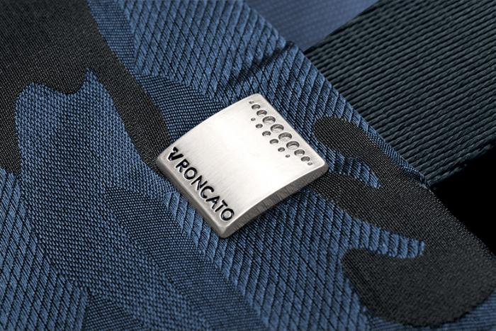Tracolla  CAMOUFLAGE BLUE Roncato