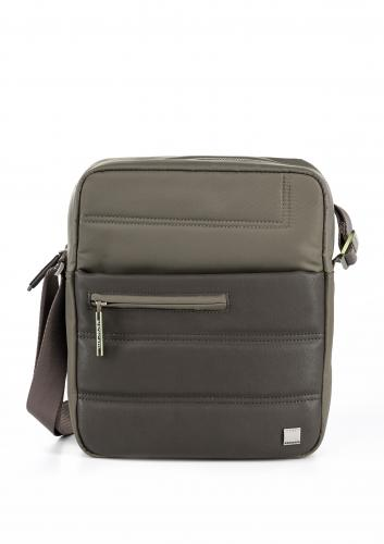CROSSOVER BAG  WARM GRAY