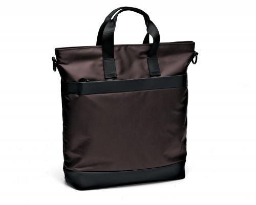 SHOPPER  DARK BROWN