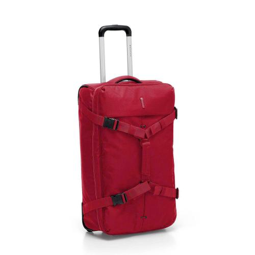 WHEELED DUFFLE  RED