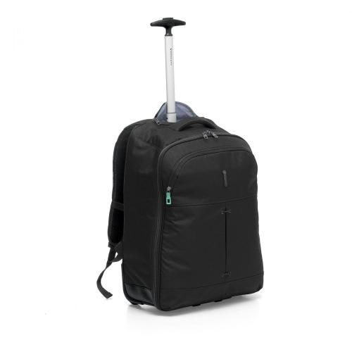 WHEELED BACKPACK  BLACK