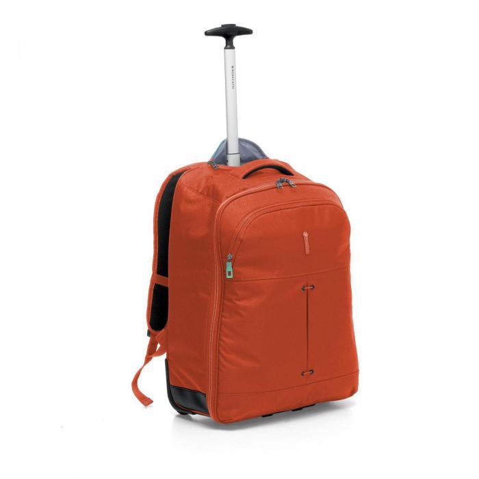 Wheeled Backpack  ORANGE