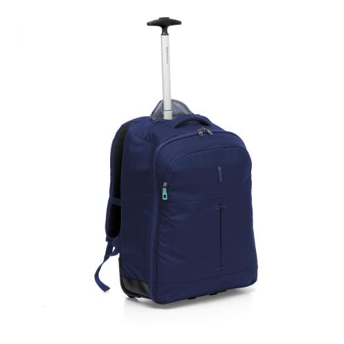WHEELED BACKPACK  DARK BLUE