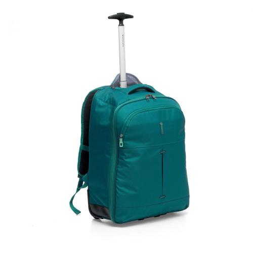 WHEELED BACKPACK  EMERALD