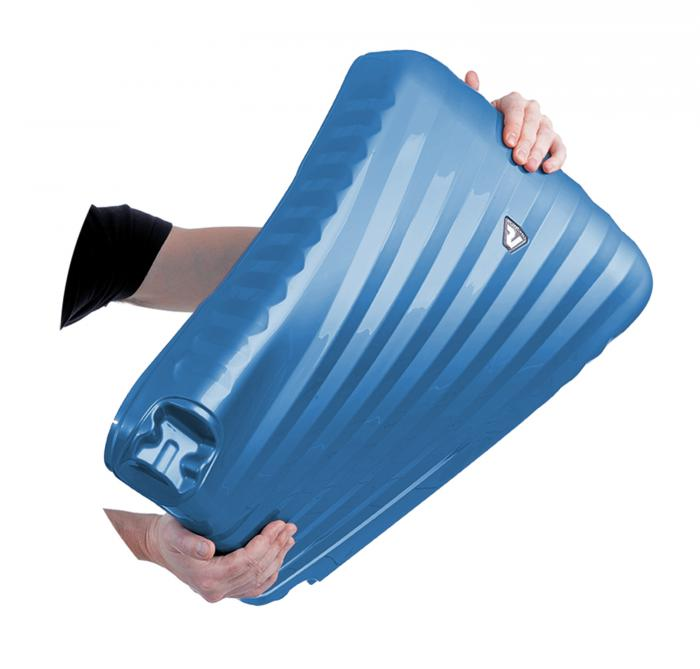 Grosse Koffer L  BLACK/BLUE Roncato