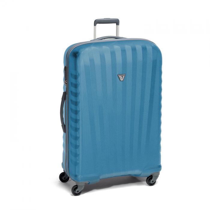 Grosse Koffer L  BLACK/BLUE