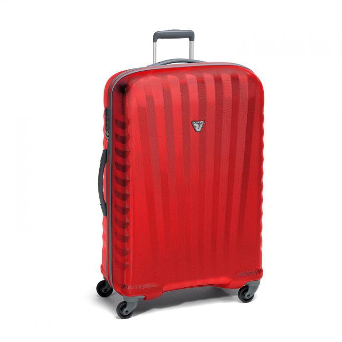 Large Luggage L  BLACK/RUBY