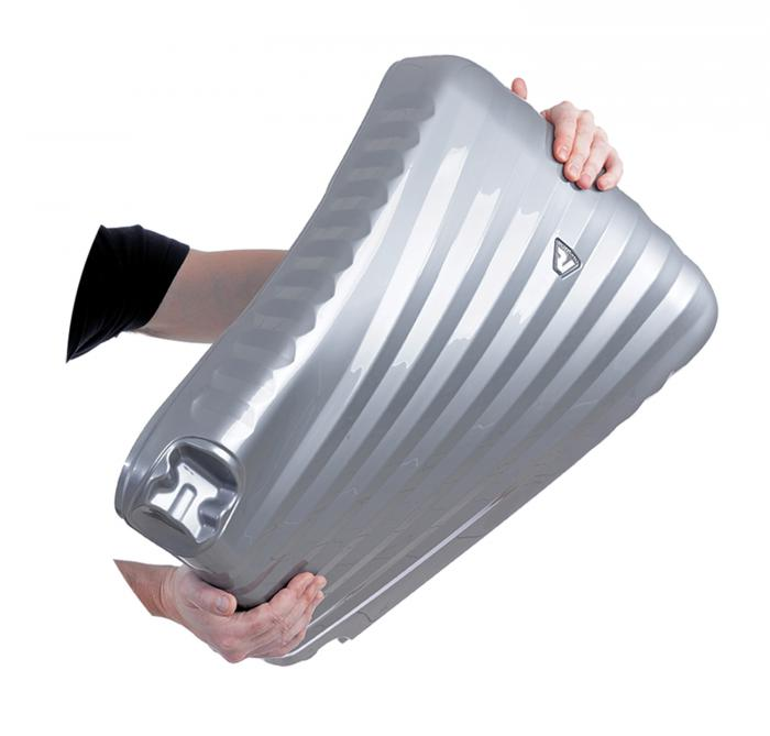 Large Luggage L  GRAY/SILVER Roncato