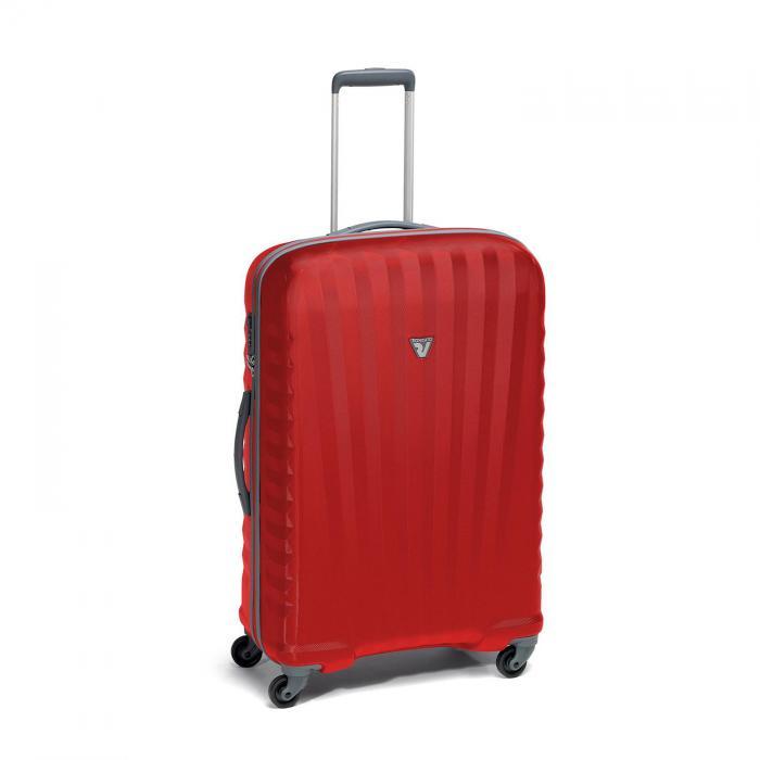 Medium Luggage M  GREY/RED