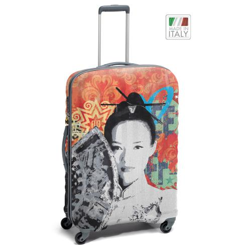 TROLLEY MEDIO  GRAY/GEISHA ART