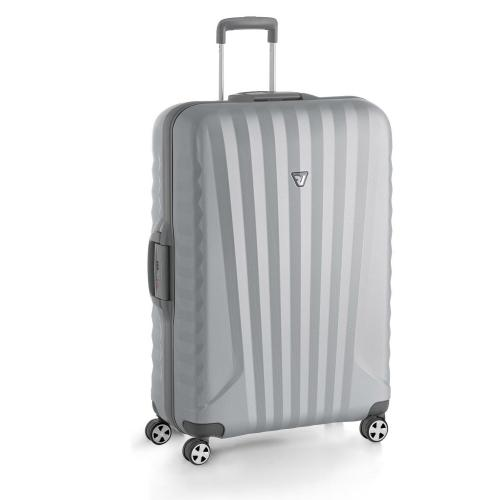 LARGE LUGGAGE  GRAY/SILVER