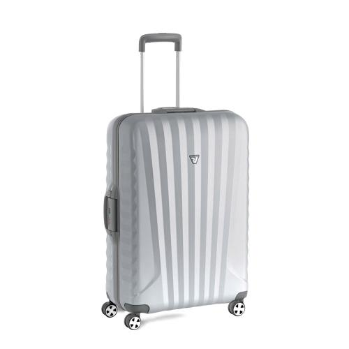 MEDIUM LUGGAGE  GRAY/SILVER