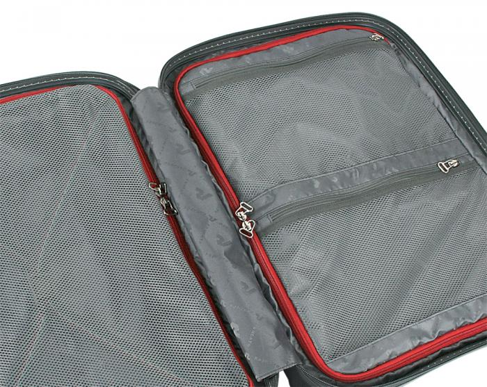 Trolley Cabine  SILVER/CARBON Roncato