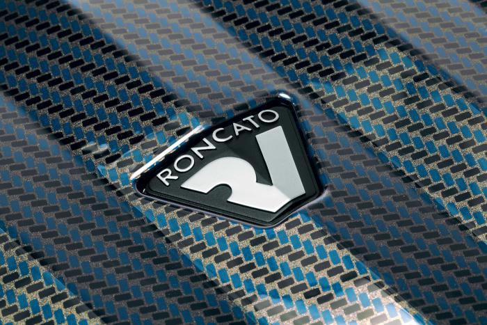 Trolley Cabine  BLUE/CARBON Roncato