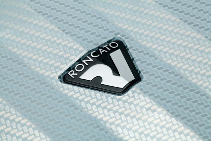 Trolley Medio  SILVER/CARBON Roncato