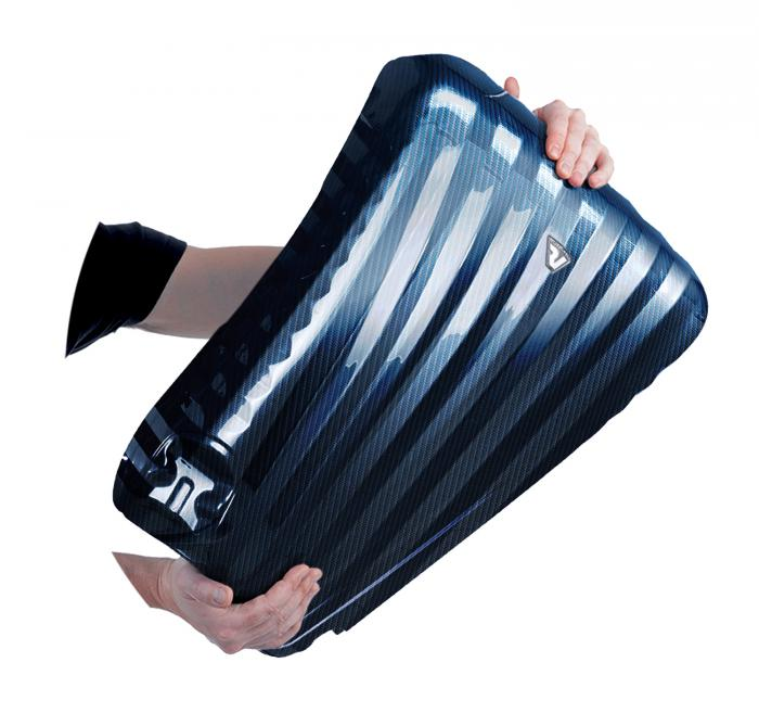 Medium Luggage  BLUE/CARBON Roncato