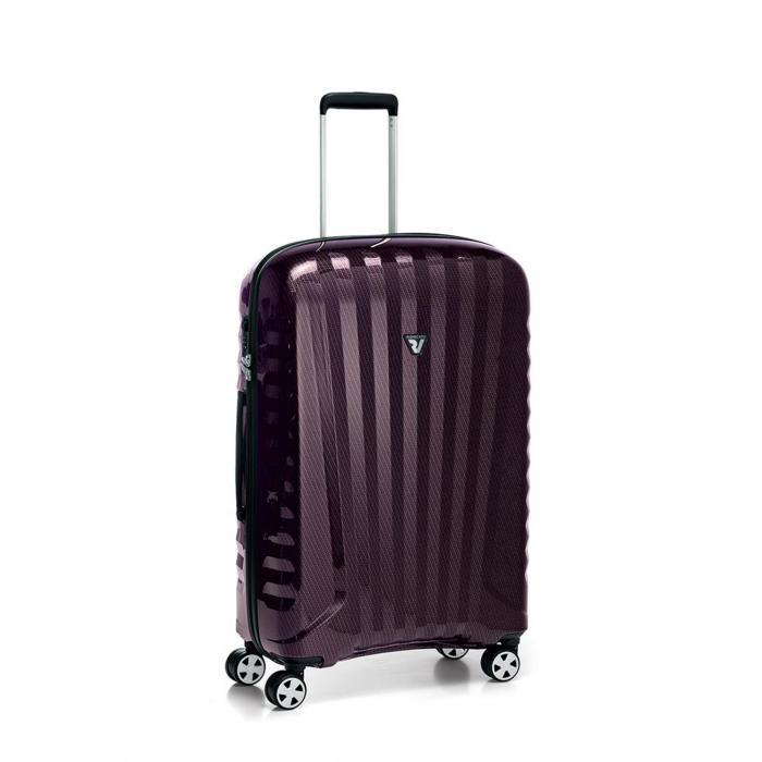 Mittelgrosse Koffer  BORDEAUX/CARBON