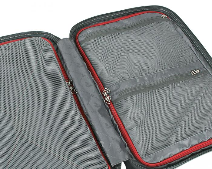 Large Luggage  SILVER/CARBON Roncato