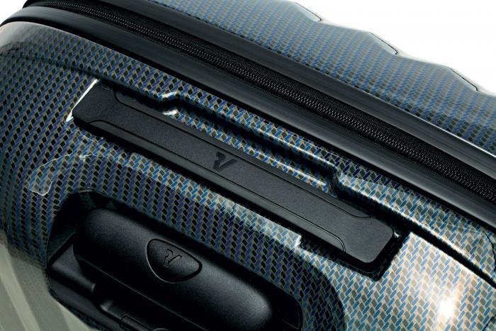 Grosse Koffer  BLUE/CARBON Roncato