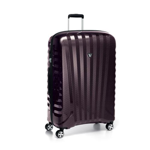 LARGE LUGGAGE  BORDEAUX/CARBON