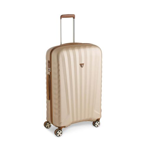 MEDIUM LUGGAGE  BROWN/CHAMPAGNE