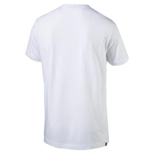 Puma T-shirt Legendary Man Tee   Usain Bolt White Tifoshop