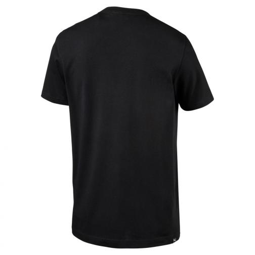 Puma T-shirt Legendary Man Tee   Usain Bolt Black Tifoshop