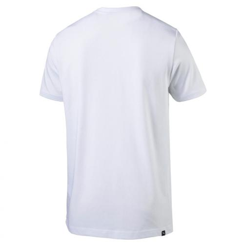 Puma T-shirt Greatest Hits Man Tee   Usain Bolt White Tifoshop