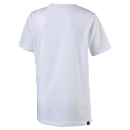 Puma T-shirt Legendary Tee Junior Usain Bolt Bianco UsainBolt