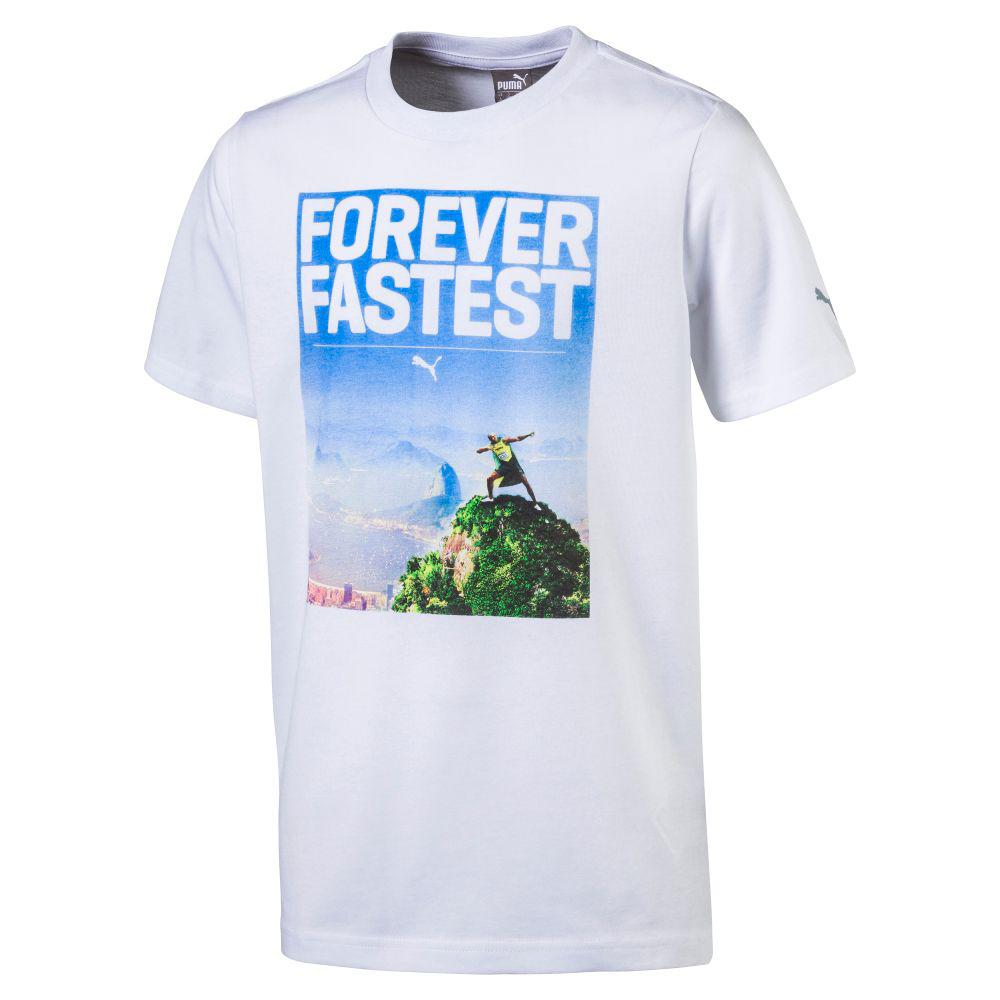 Puma T-shirt Legendary Tee  Enfant Usain Bolt