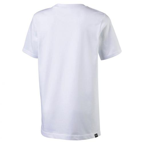 Puma T-shirt Greatest Hits Tee Junior Usain Bolt Bianco UsainBolt