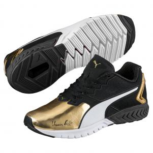 Bolt Ignite Gold Dual Puma Shoes Usain Black 5Iw7zw