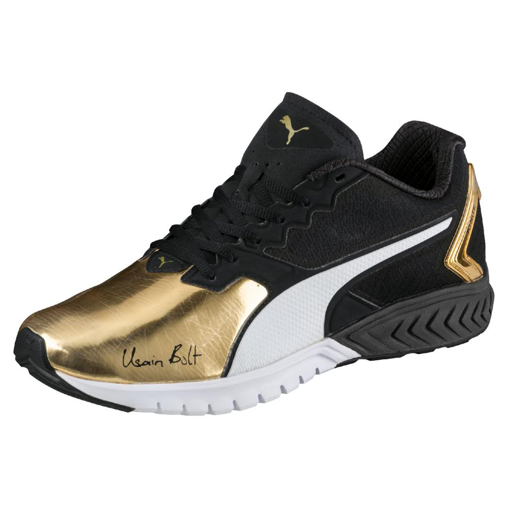 Puma Usain Ignite Bolt Gold Shoes Black Dual pzMVqSU