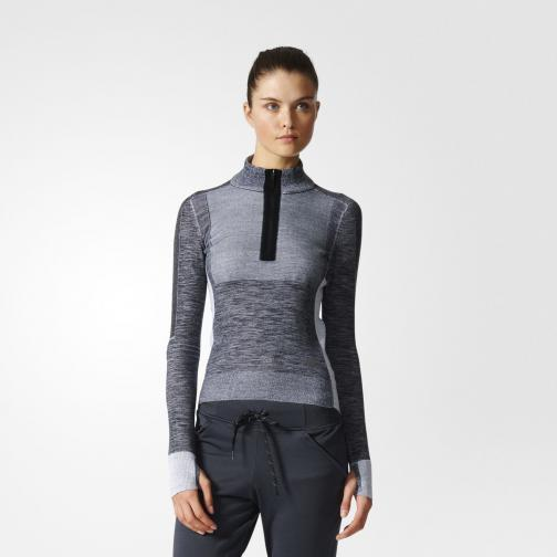 Adidas Felpa Primeknit  Donna Nero