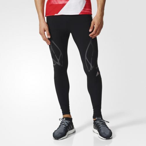 Adidas Pantalone Adizero Sprintweb Nero