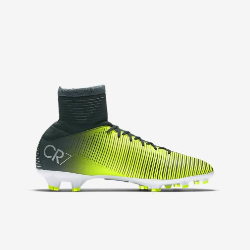 Nike Scarpe Calcio Mercurial Superfly V Cr7 Fg  Junior Cristiano Ronaldo Verde Tifoshop